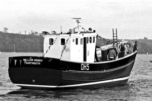 William Henry, probably the last wooden crabber for the South Devon fleet, was built at J Hinks & Son and launched in 1985.