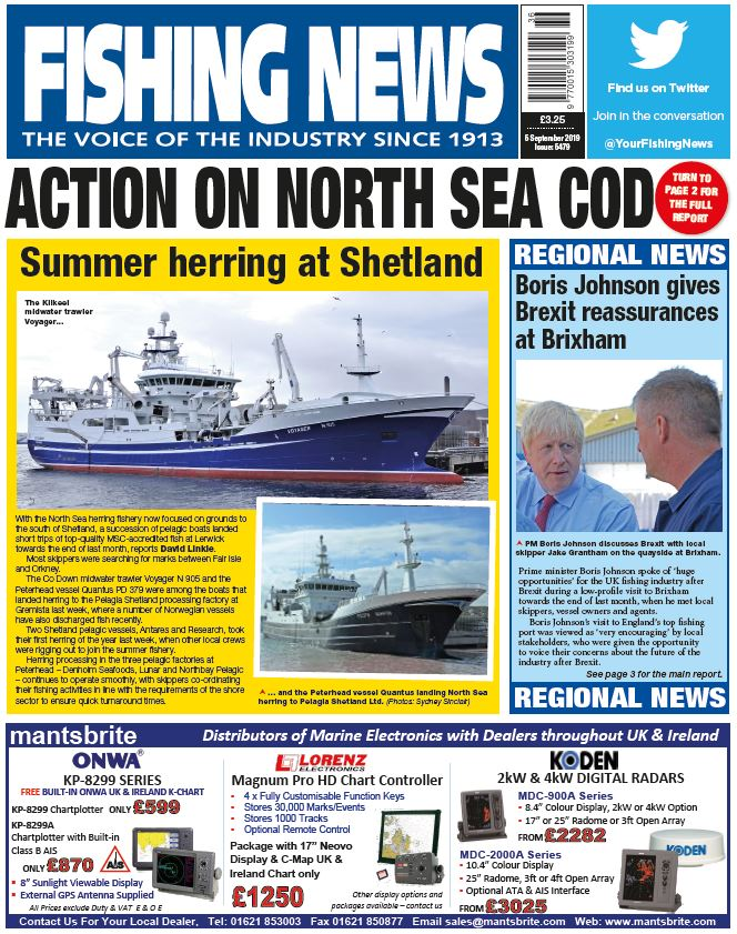 Fishing News Cover 05.09.19