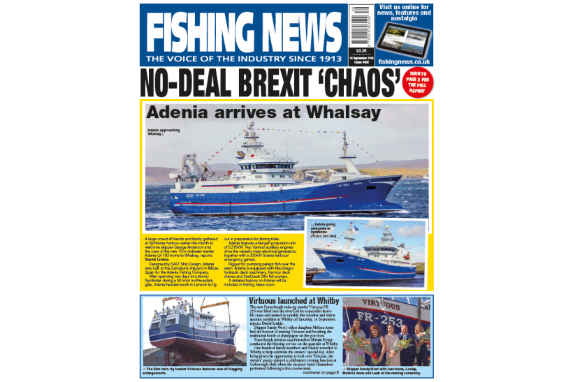 New Issue: Fishing News 26.09.19