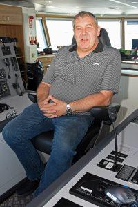 Skipper George Anderson.