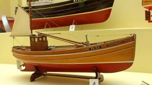 A model of Manx Beauty in the Scottish Fisheries Museum at Anstruther.
