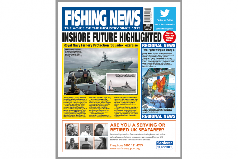 New Issue: Fishing News 17.10.19