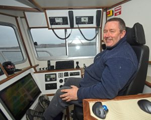 Dalwhinnie skipper Ian Mathieson.