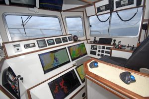 The wheelhouse electronics were supplied and installed by Furuno UK of Fraserburgh.