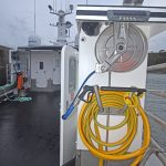 Two Nilfisk pressure washers supplied by Powerwasher Services of Laurencekirk are fitted forward and aft on the port and starboard sides of Dalwhinnie.