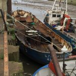 The vessel was taken right back to the hull before rebuilding work began. (Photo: Lynn Shellfish)