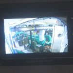 … and camera feeds from the engineroom and winch rooms.