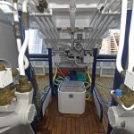 The 2 x 15t split net drums, supplied by EK Marine, are positioned either side…