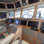 The wheelhouse electronics were supplied and commissioned by Echomaster Marine.