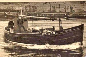 The ripper yole Virtuous FR 353 was built for Fraserburgh brothers Alex and Jimmy West at the Tommy Summers boatyard in 1953…