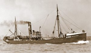 William Oliver made his first trip as skipper in the Lord Salisbury, owned by the Yorkshire Steam Trawling Company.
