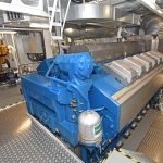 Zephyr's Wärtsilä 12V33 propulsion unit develops 6,960kW at 750rpm.