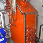 … deliver recovered heat to the Ulmatec domestic hot-water boiler.