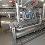 Two ammonia-based refrigeration plants deliver 2.5mKcal/h of cooling capacity to Zephyr's RSW system.