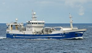 Zephyr Fishing Company's previous 72.8m Zephyr is now fishing horse mackerel from Namibia.