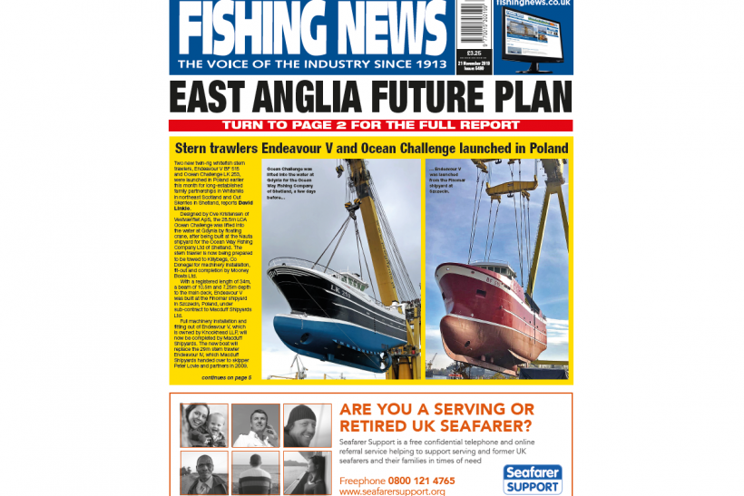 New Issue: Fishing News 21.11.19
