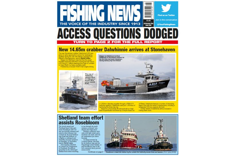 New Issue: Fishing News 28.11.19