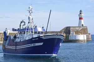 … going to Fraserburgh to see Good Hope preparing for her maiden trip.