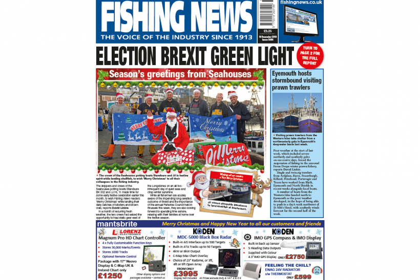 New Issue: Fishing News 19.12.19