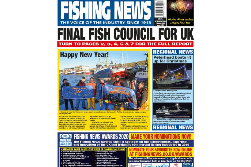 New Issue: Fishing News 26.12.19