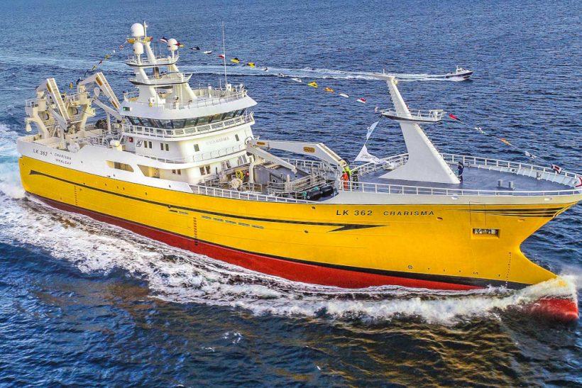 Charisma – New Whalsay pelagic vessel starts on mackerel