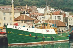 Built at Macduff in 1984, the 60ft whitefish side trawler Our Pride was shelterdecked on the port side while the starboard side was left open for working the single-rig hopper trawls. (Photos: David Linkie)