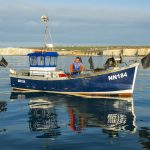 Steve catches up with Newhaven fisherman Gary Calderwood on Fair Morn NN 184.