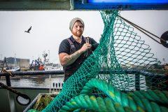 Zenith skipper Adam Robertson features in the first episode of Fish Town. (Photos: Joanna Langan)