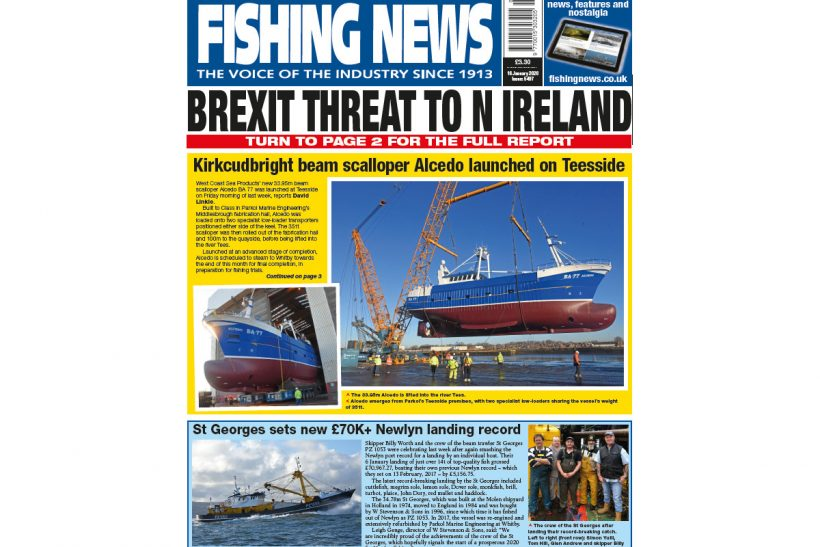 New Issue: Fishing News 16.01.20