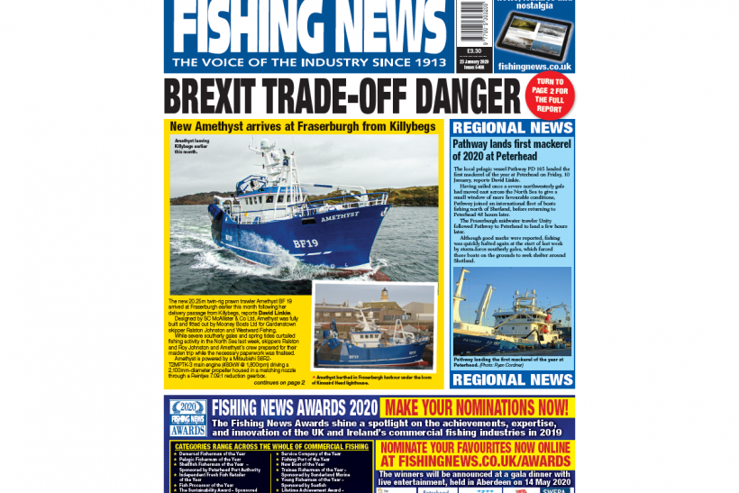 New issue: Fishing News 23.01.20