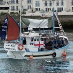… but following a major refit, its transom was trimmed to bring it under 10m. The vessel was then renamed Fiona Mary.