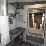 The fish-sampling room on the shelterdeck amidships.v