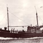 The 74ft herring drifter/whitefish seine-net boat Lunar Bow II PD 425 was built in the Thomas Summers yard at Fraserburgh in 1954.