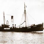 Caesar H 874 and Dogberry H 46 were built around this time to operate in a new 'box' fleet started up by Hellyer's around 1906. The box fleets fished the Dogger Bank and Silver Pits in the North Sea and stayed at sea for weeks at a time, landing their boxed catches daily, in all weathers, to fast cutters that took them to Billingsgate market in London. These were highly dangerous operations, and the box fleets faded out in the 1930s.