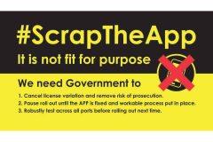 #scraptheapp