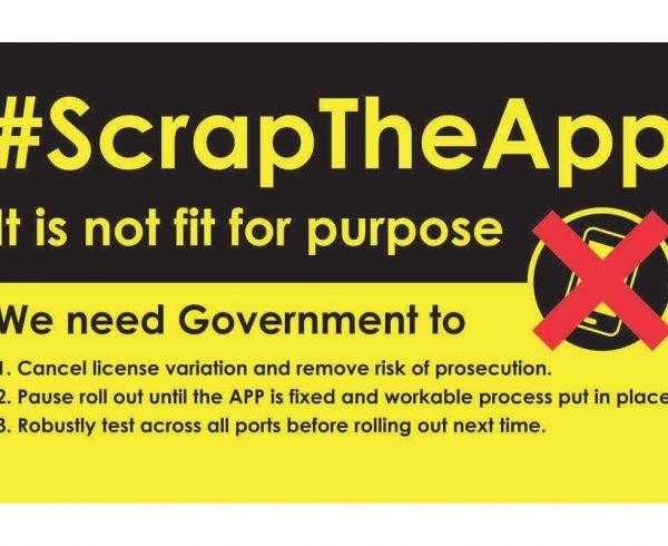 Scrap catch app campaign