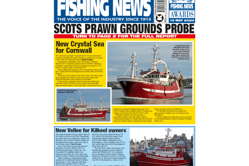 New Issue: Fishing News 13.02.20