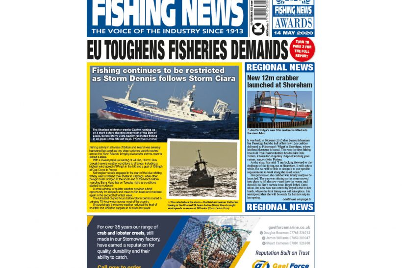 New Issue: Fishing News 20.02.20