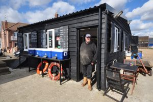 Allan Wood also sold bass through his shop, but a single tagged fish he sent to CEFAS was enough to give him track record and a full entitlement...
