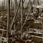 Lowestoft was huge at the peak of the herring fishery. (Photo courtesy of Port of Lowestoft Research Society)