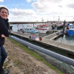 … and 14 boats, mostly U10s, still work from Lowestoft. June Mummery, fishmarket proprietor and former MEP, hopes to see more with greater UK control of the southern North Sea.