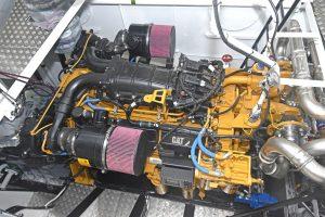 Crystal Sea's Cat C32 ACERT main engine…
