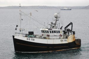 … was replaced in 2007 by the former Fraserburgh twin-rig trawler Good Design BF 151.