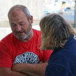 An advice session during a SeaFit event at Poole.