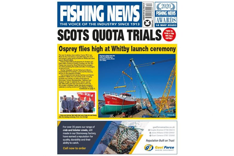 New Issue: Fishing News 19.03.20