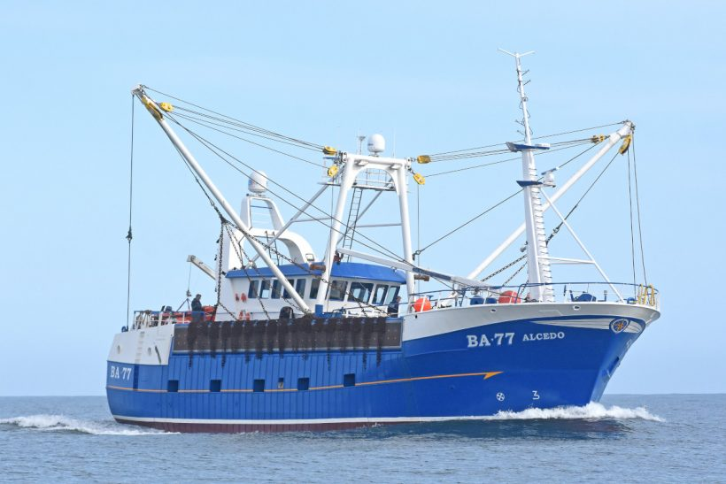 Alcedo –Advanced Kirkcudbright beam scalloper built by Parkol Marine Engineering for West Coast Sea Products