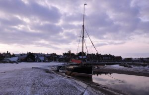 Blakeney still has a channel, and some boats – but not for fishing.