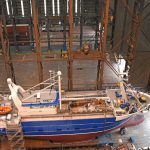 A virtually finished Alcedo ready to be rolled out of Parkol's fabrication hall on Teesside.