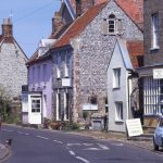 Cley is now a flinty coastal village, more known for bird-watching on its marshes.
