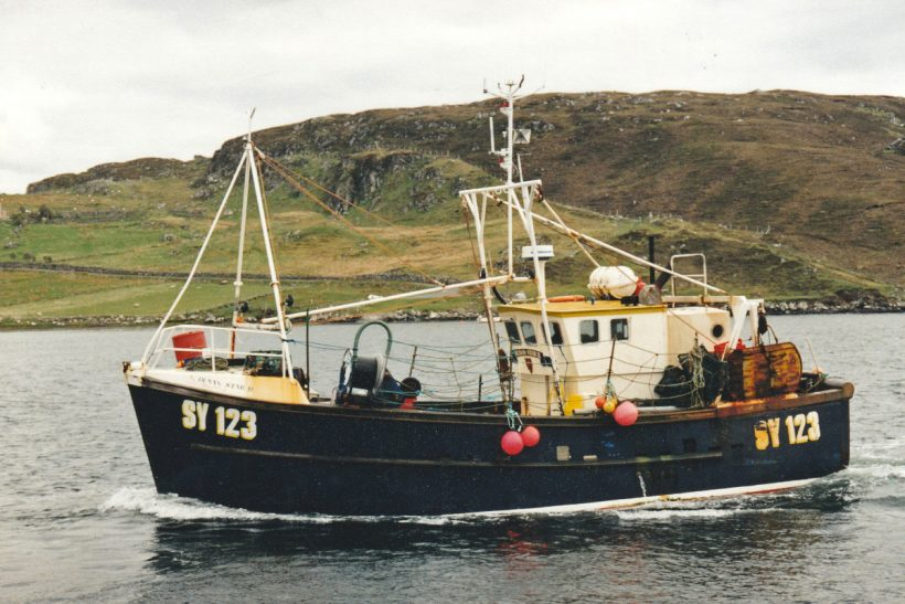 Daily fishing flexibility of yesteryear  on versatile Western Isles inshore boat